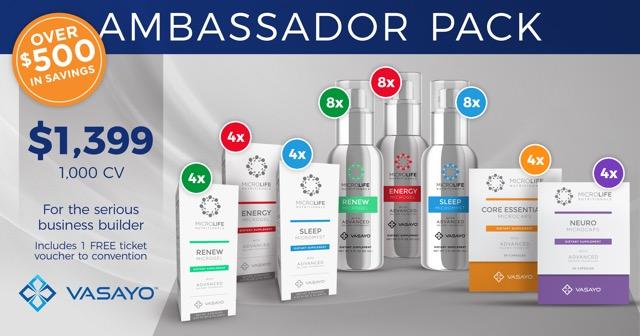 Vasayo Ambassador Pack