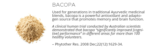 Neuro Ingredients - Bacopa