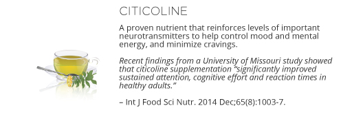 Neuro Ingredients - Citicoline