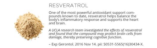 Renew Ingredients - Resveratrol